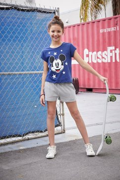 disney t-shirt »mickey mouse« blauw
