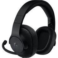 logitech games »g433« gaming-headset (via een vaste verbinding, microfoon aan de buitenkant) zwart