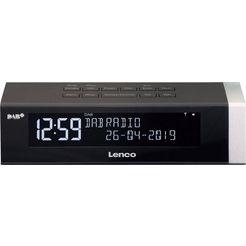 lenco »cr-630« (fm-tuner,digitalradio (dab+), 4 watt) zwart