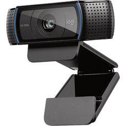 logitech »c920 hd pro« webcam zwart