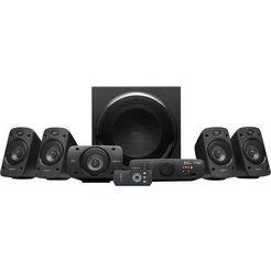 logitech 5.1-luidsprekersysteem z906 zwart