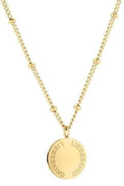 liebeskind berlin ketting met hanger »lj-0583-n-46« goud