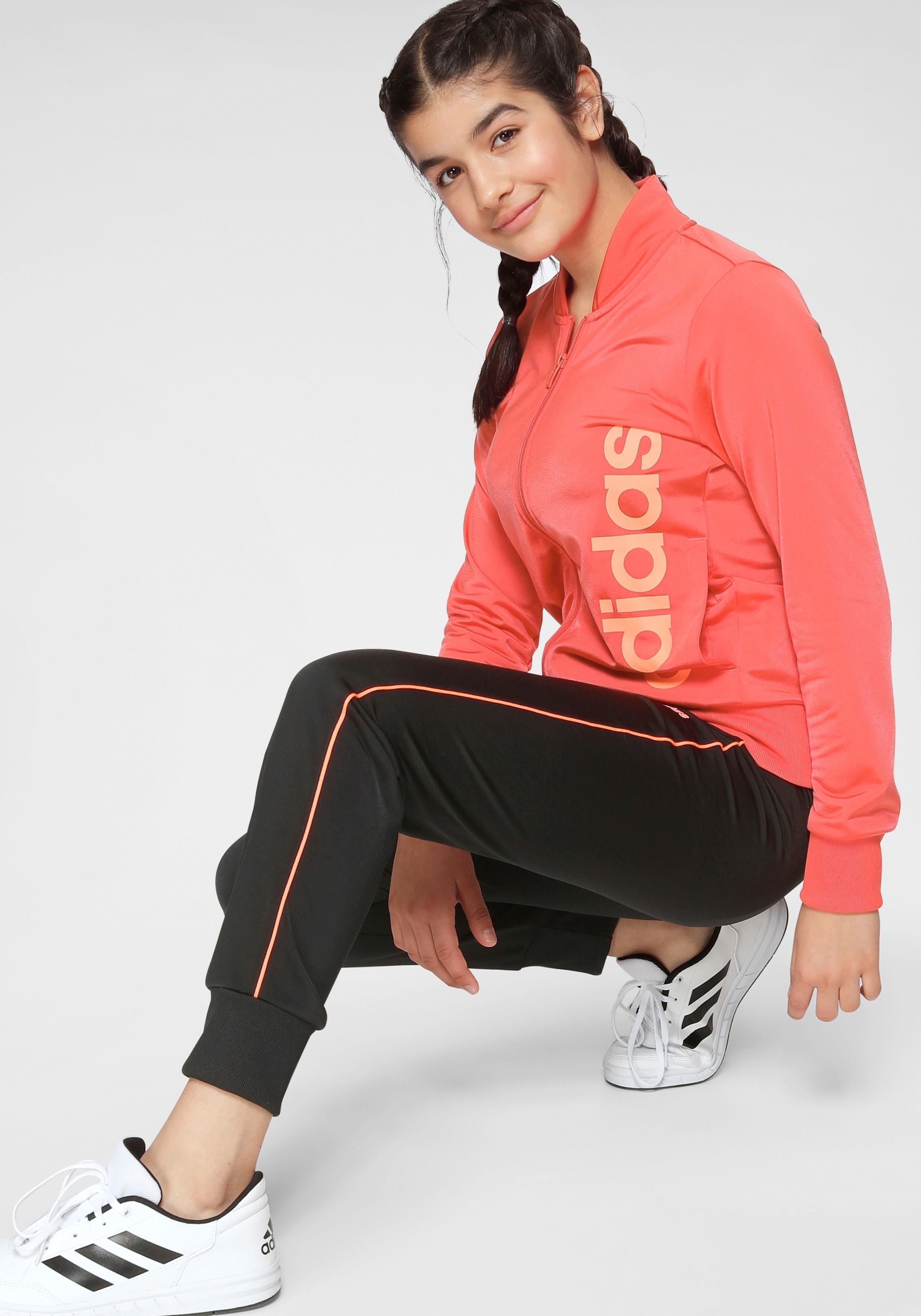 adidas Performance trainingspak »YOUTH GIRL TRACKSUIT« nu online bestellen