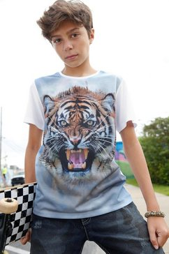 arizona t-shirt »tiger« wit