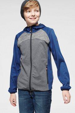 killtec tricot-fleecejack »benjino« blauw