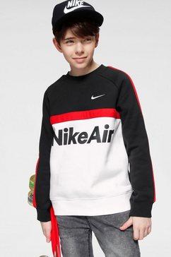 nike sportswear sweatshirt »air crew« zwart