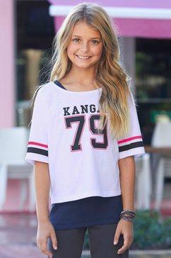 kangaroos shirt met korte mouwen wit