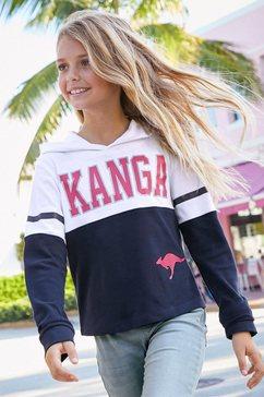 kangaroos shirt met lange mouwen blau
