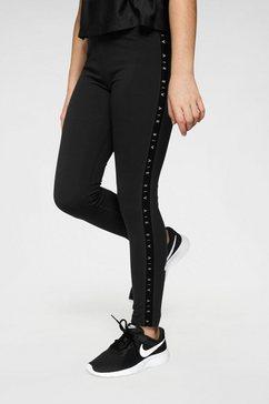 nike sportswear legging »nike air big kids girls leggings« zwart