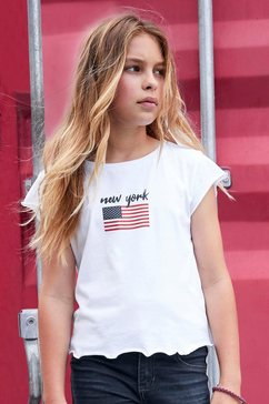 arizona t-shirt »new york« wit