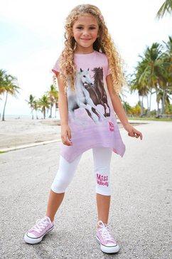 miss melody shirt  legging roze