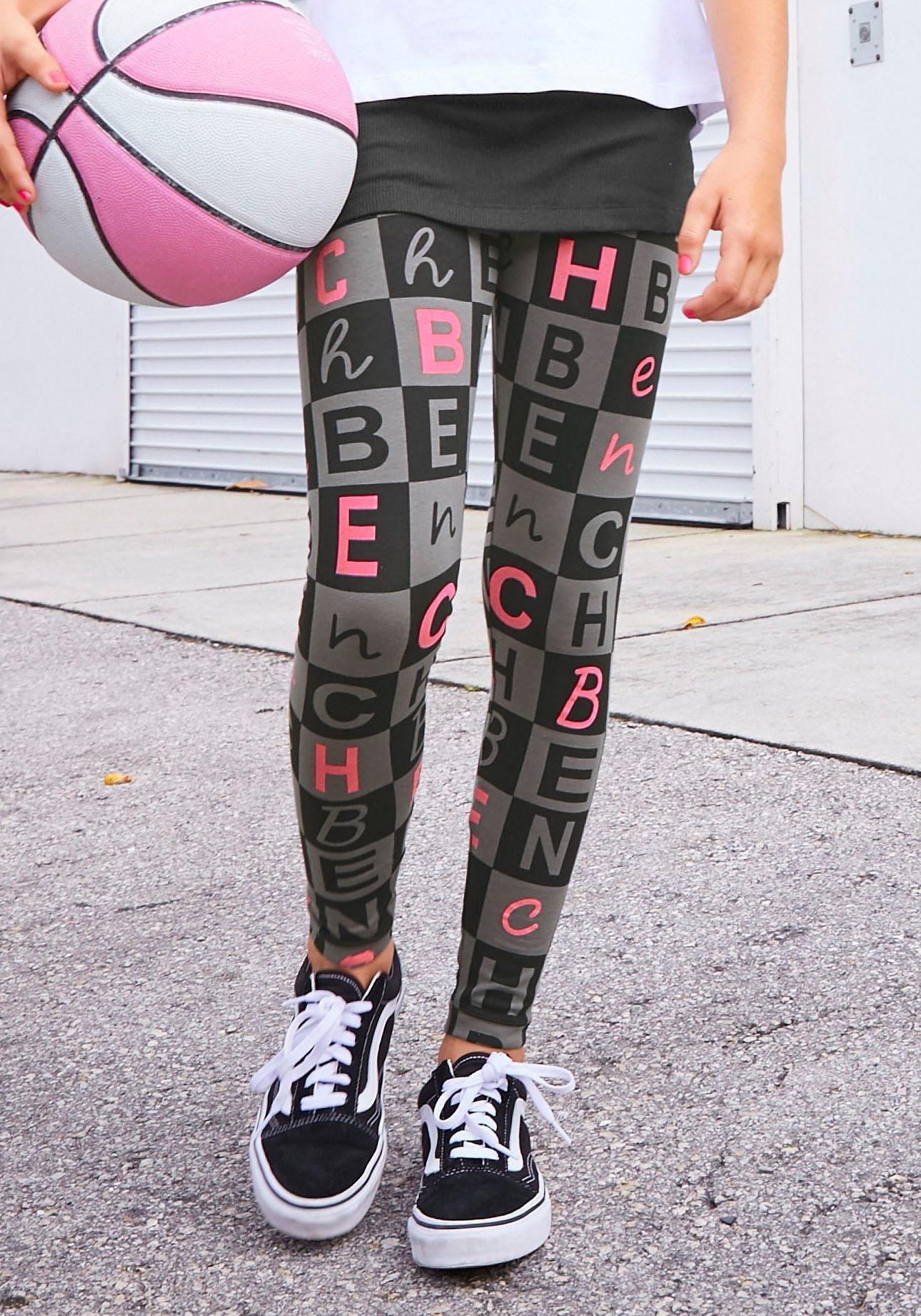 Bench. legging met logoprint all-over in de webshop van OTTO kopen