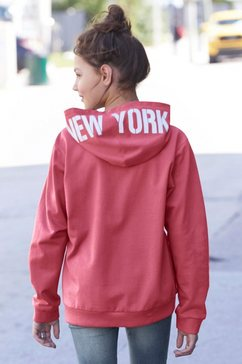 arizona sweatshirt »new york« rood