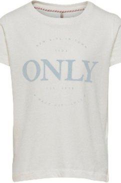 kids only t-shirt »konlogo« wit