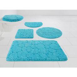 my home badmat »steine« blauw