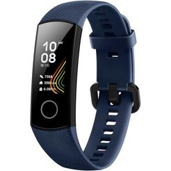 honor smartwatch band 5 blauw