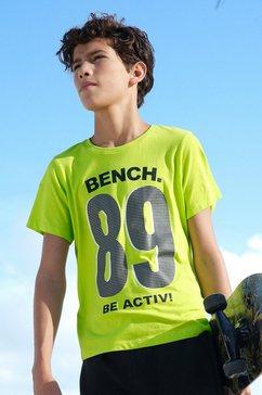 bench. t-shirt be activ groen