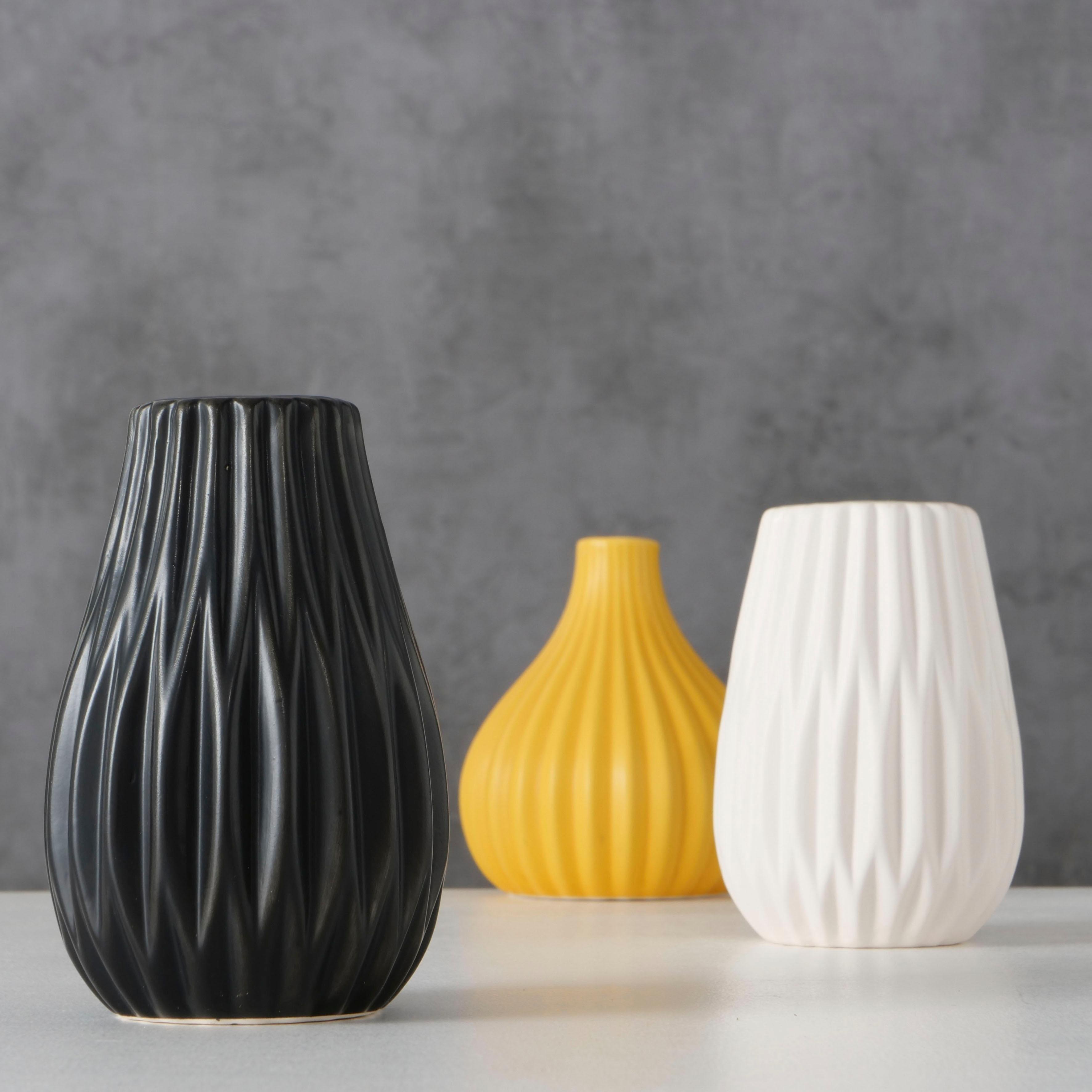 BOLTZE tafelvaas Wilma gemaakt van keramiek (set, 3 stuks) in de webshop van OTTO kopen