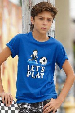 arizona t-shirt »let`s play« blauw