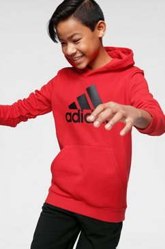 adidas performance hoodie »young boys must have batch of sport hoody« rood
