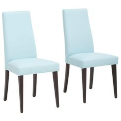 """my home stoel """"mary"""" blauw"""