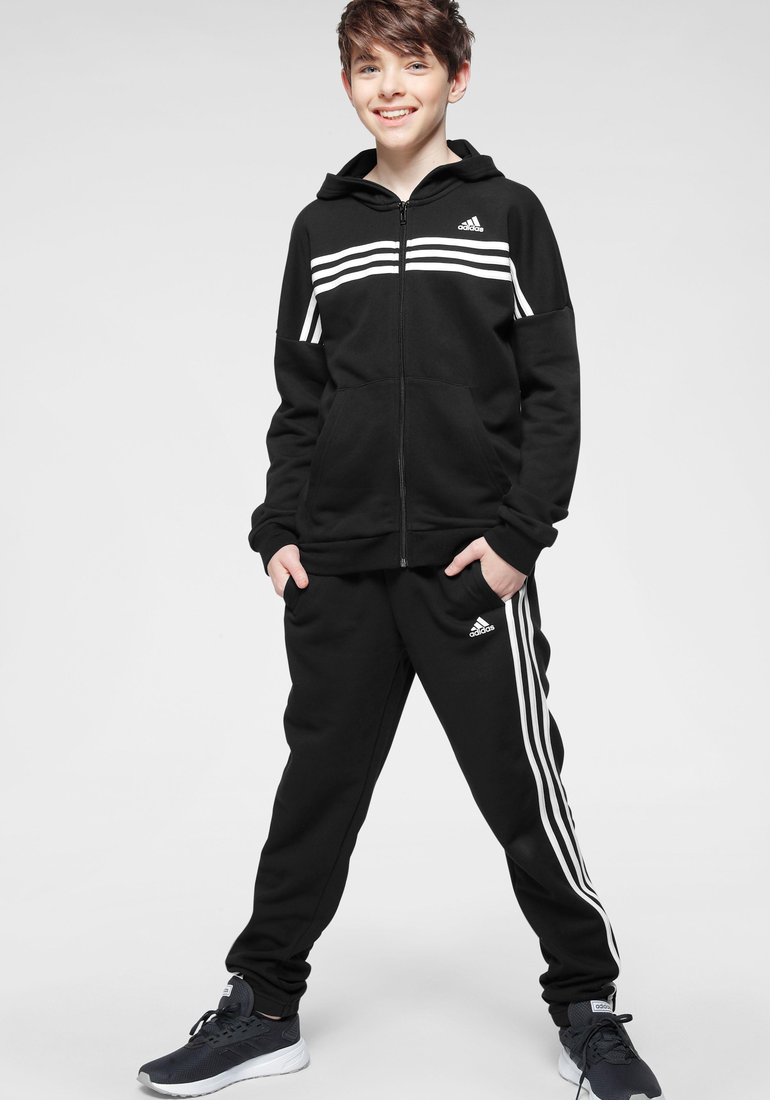 adidas Performance trainingspak JOUTH BOY COTTON TRACKSUIT (set, 2-delig) bij OTTO online kopen