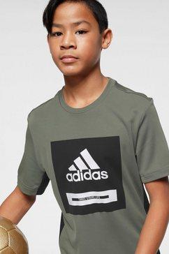 adidas performance t-shirt groen