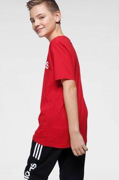 adidas t-shirt »e linear tee« rood