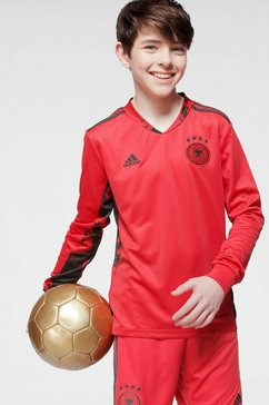 adidas performance keepersshirt »em 2020 dfb torwart-heimtrikot kinder« rood