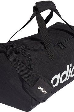 adidas sporttas »linear duffle s« zwart