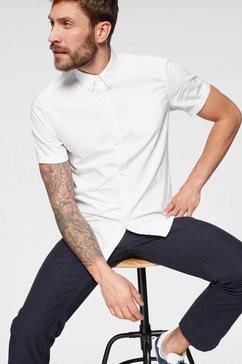john devin overhemd met korte mouwen wit