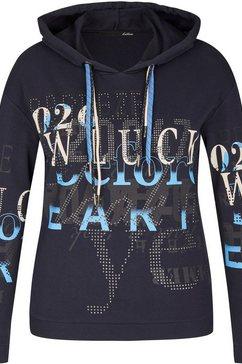 lecomte sweatshirt blauw