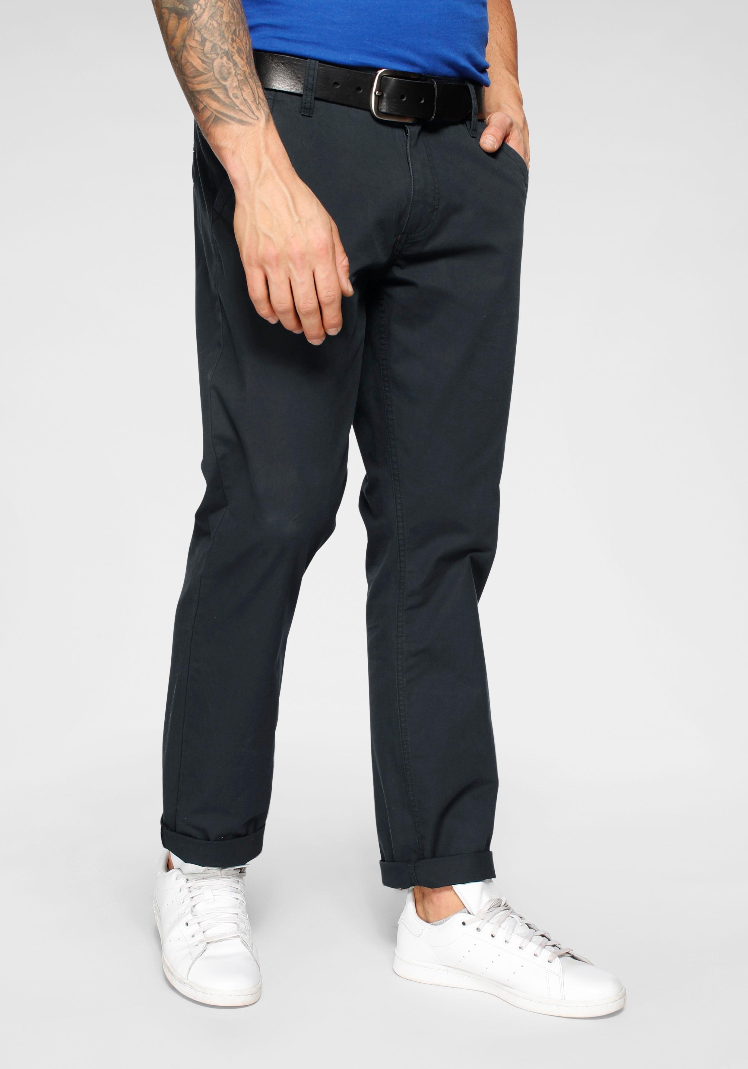 John Devin Chino-broek met schuine steekzakken voordelig en veilig online kopen