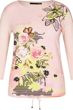 lecomte shirt met print roze