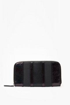 s.oliver portemonnee in colour block look zwart