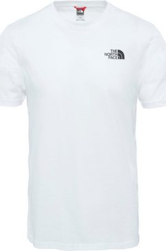 the north face functioneel shirt »simple dome« wit