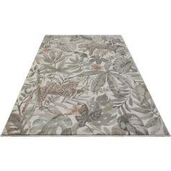 elle decor vloerkleed »sambre«, elle decor, rechthoekig, hoogte 11 mm, machinaal geweven bruin