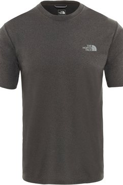 the north face t-shirt »reaxion« grijs