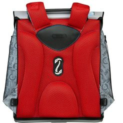 scooli schooltas »campus fit pro, cars« (set, 5 tlg.) grijs