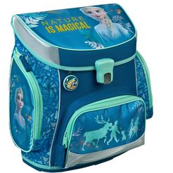 scooli schooltas campus fit pro, frozen (set, 5) blauw