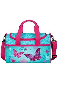 scooli sporttas »butterfly« blauw