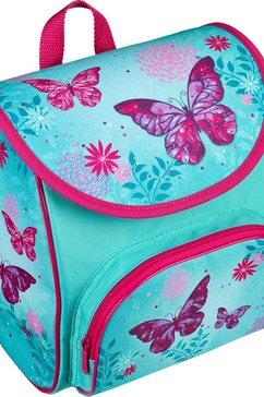 scooli schooltas voor kleuters »cutie, butterfly« blauw