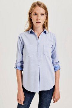 opus blouse zonder sluiting »falenta« blauw