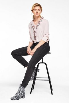 s.oliver black label sienna slim: blue jeans zwart