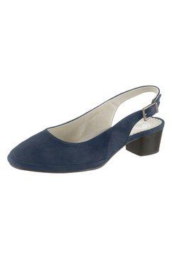 mubb slingpumps in aantrekkelijke california-look blauw