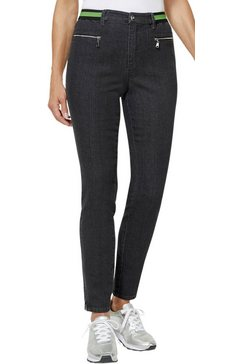 création l jeans met stretchaandeel grijs