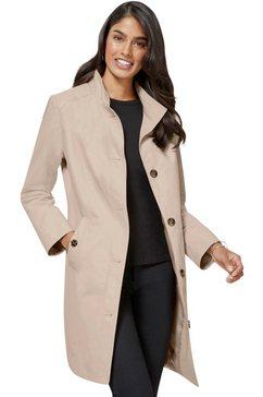 classic inspirationen coat in populaire trenchcoat-stijl beige