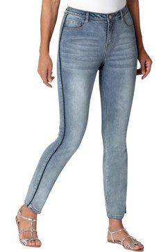ambria jeans in klassiek five-pocketsmodel blauw
