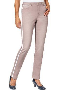 classic inspirationen jeans met afkledende galons roze