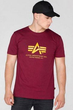 t-shirt, alpha rood